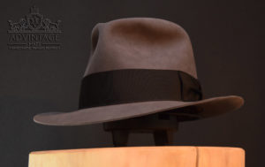 custom fedora hut custom fedora hut hat grau 2 biberfilz handgemacht beaver felt handmadehat grau 2