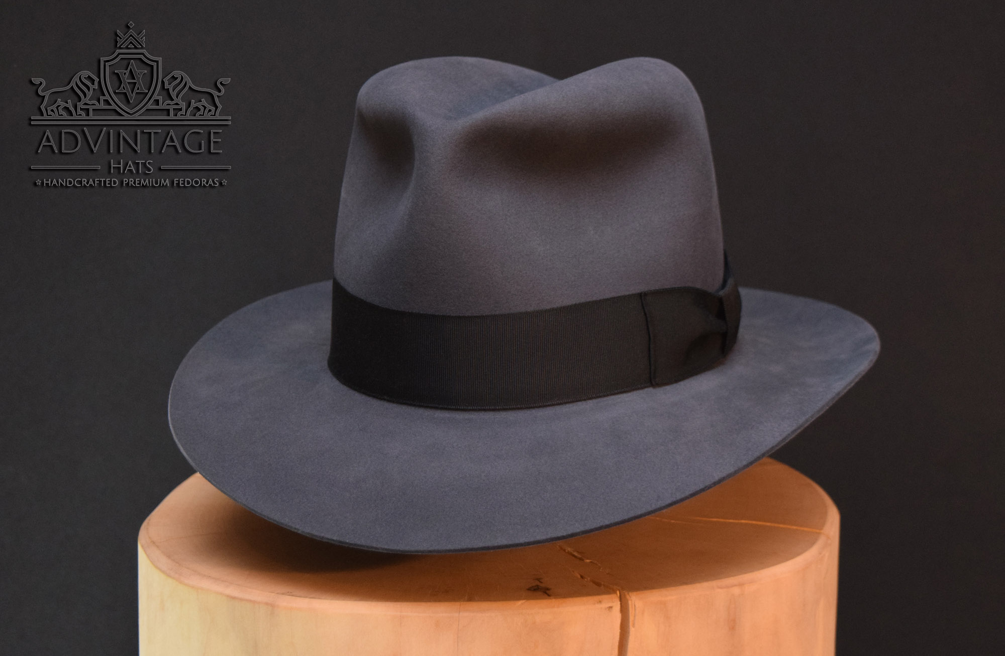 Kingdom Crystal Skull Fedora Hut hat Indy Indiana Jones grey grau