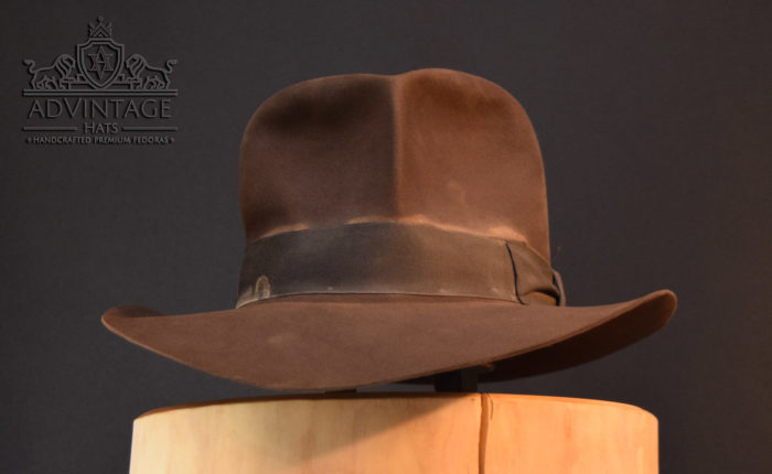 hero streets of cairo fedora hat hut Indy indiana jones true-sable 2