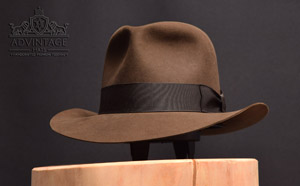 Temple (ToD mine scene) fedora hat in Sable