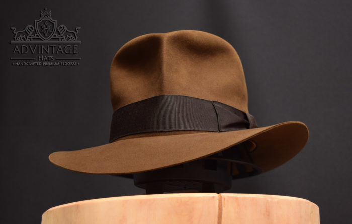 SoC Streets of Cairo fedora hut hat bright-sable. indiana jones