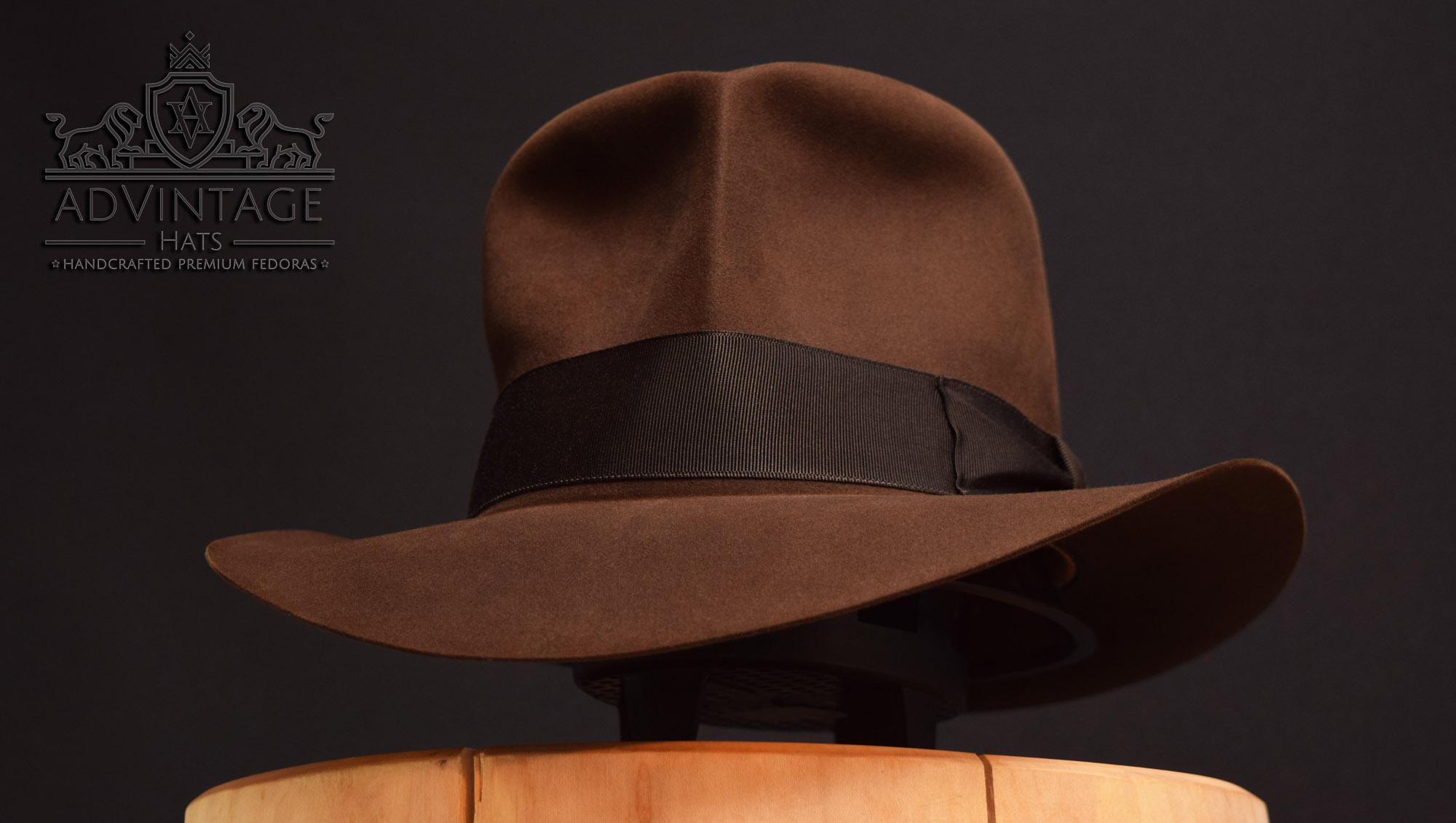 streets of cario soc fedora hut hat indiana jones indy true-sable decent