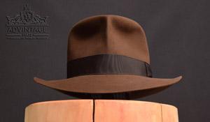 MasterPiece Raiders Fedora hat in True-Sable