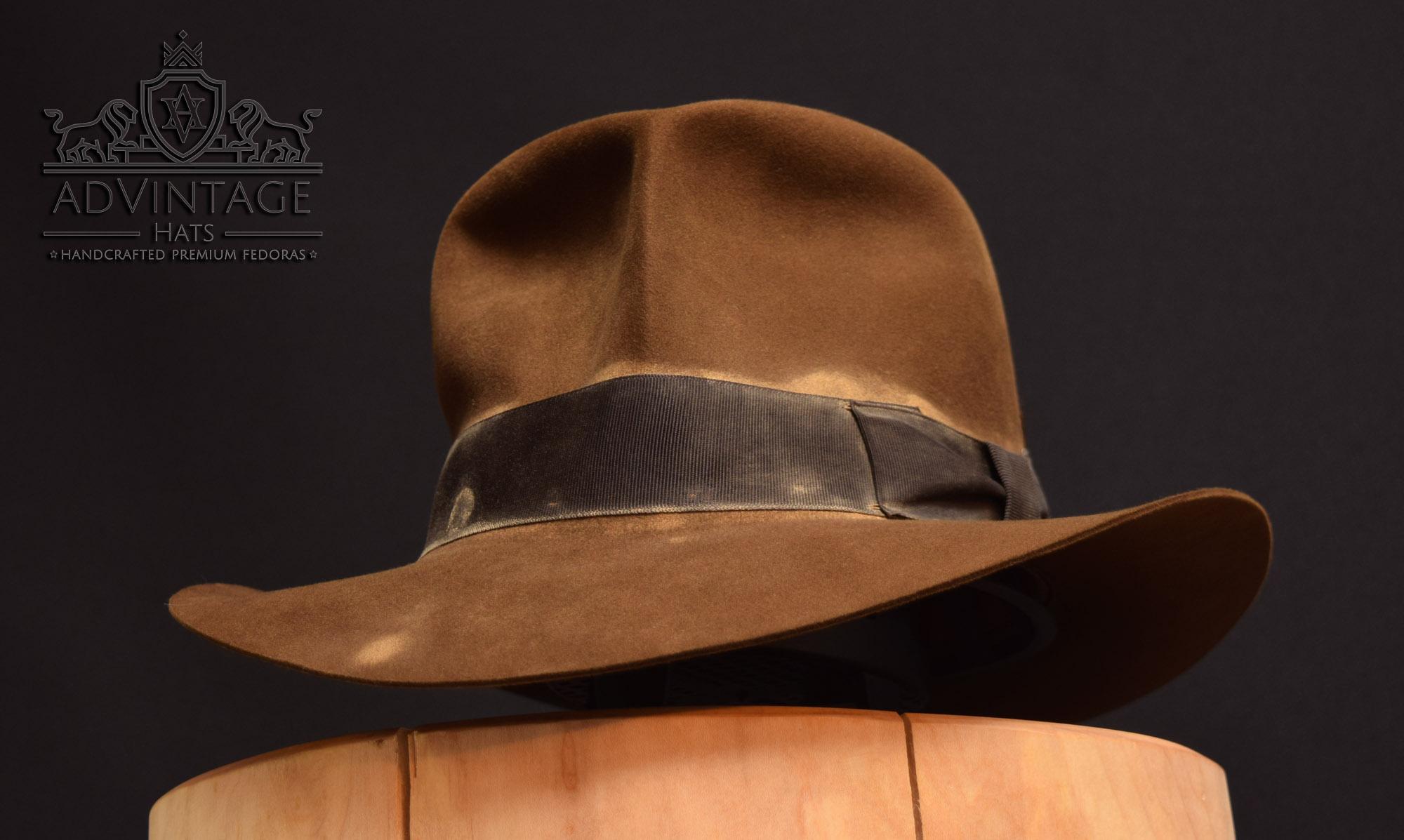 streets of cario soc fedora hut hat indiana jones indy bright-sable hero