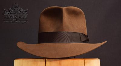 Raider Fedora hat in Sable