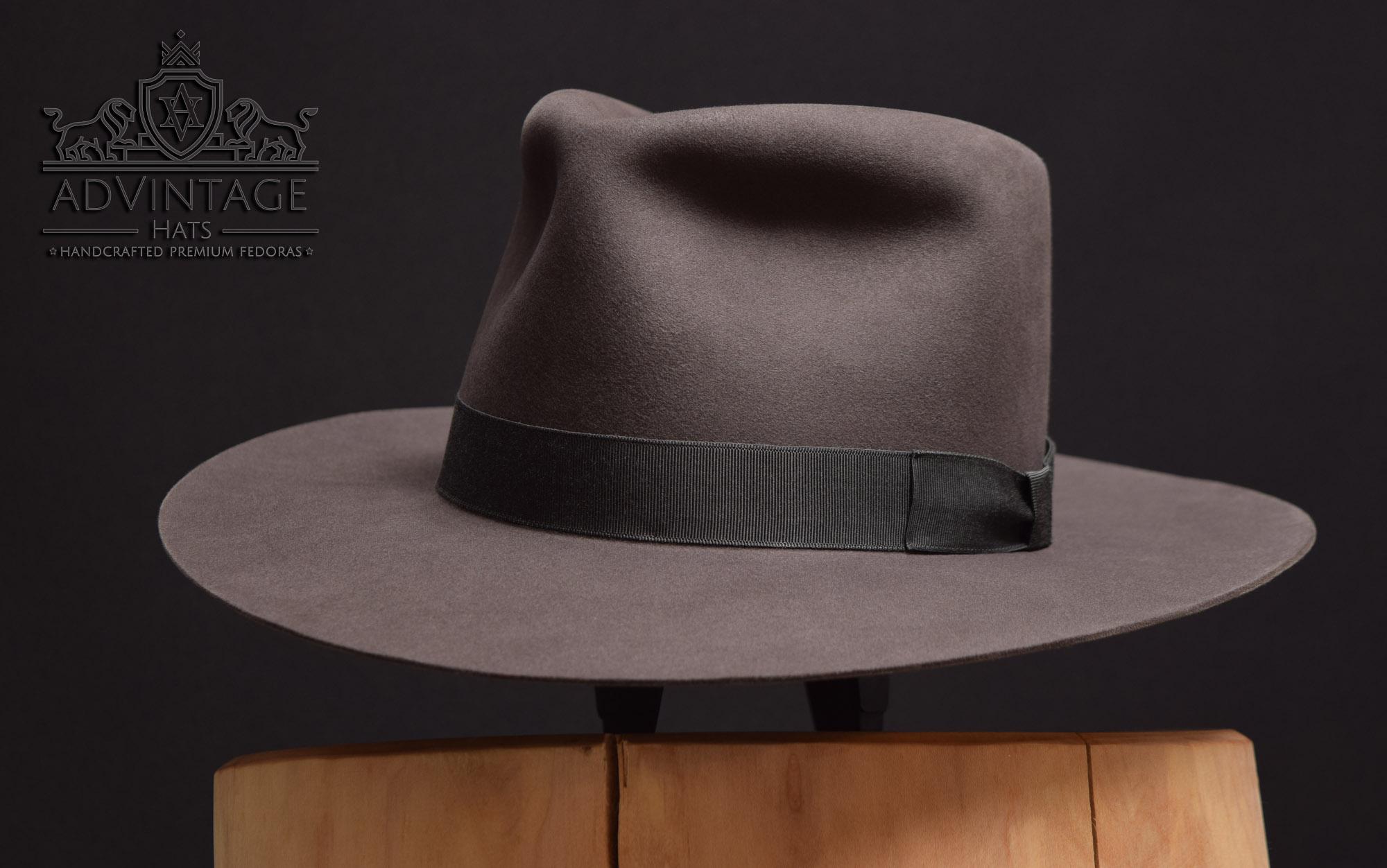 100x 100% beaver biber felt filz fedora hut hat handmade custom bespoke