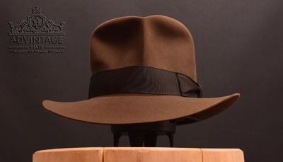 Decent Streets of Cairo Fedora hat in Sable