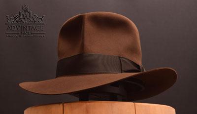 Decent Streets of Cairo Fedora hat in True-Sable