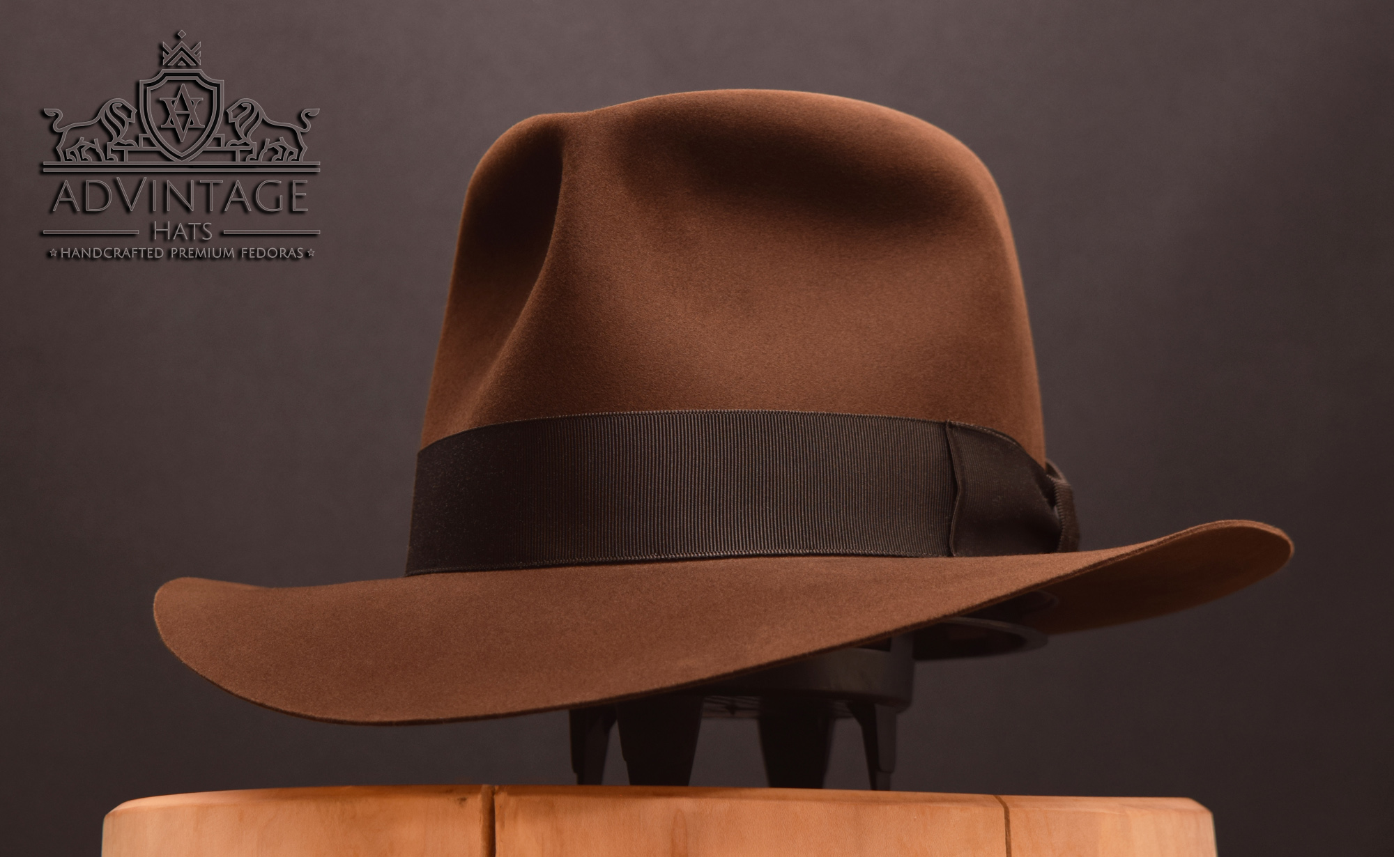 Last Crusade Indiana Jones Fedora hat hut advintage masterpiece true sable