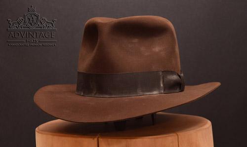 Dusty Kingdom Fedora hat in True-Sable