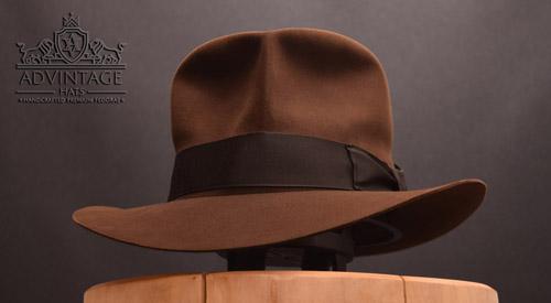 Decent SoC Fedora hat in True-Sable