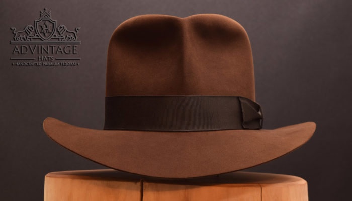 Raider Fedora adVintage Indiana Jones hat true sable without Raiders-Turn
