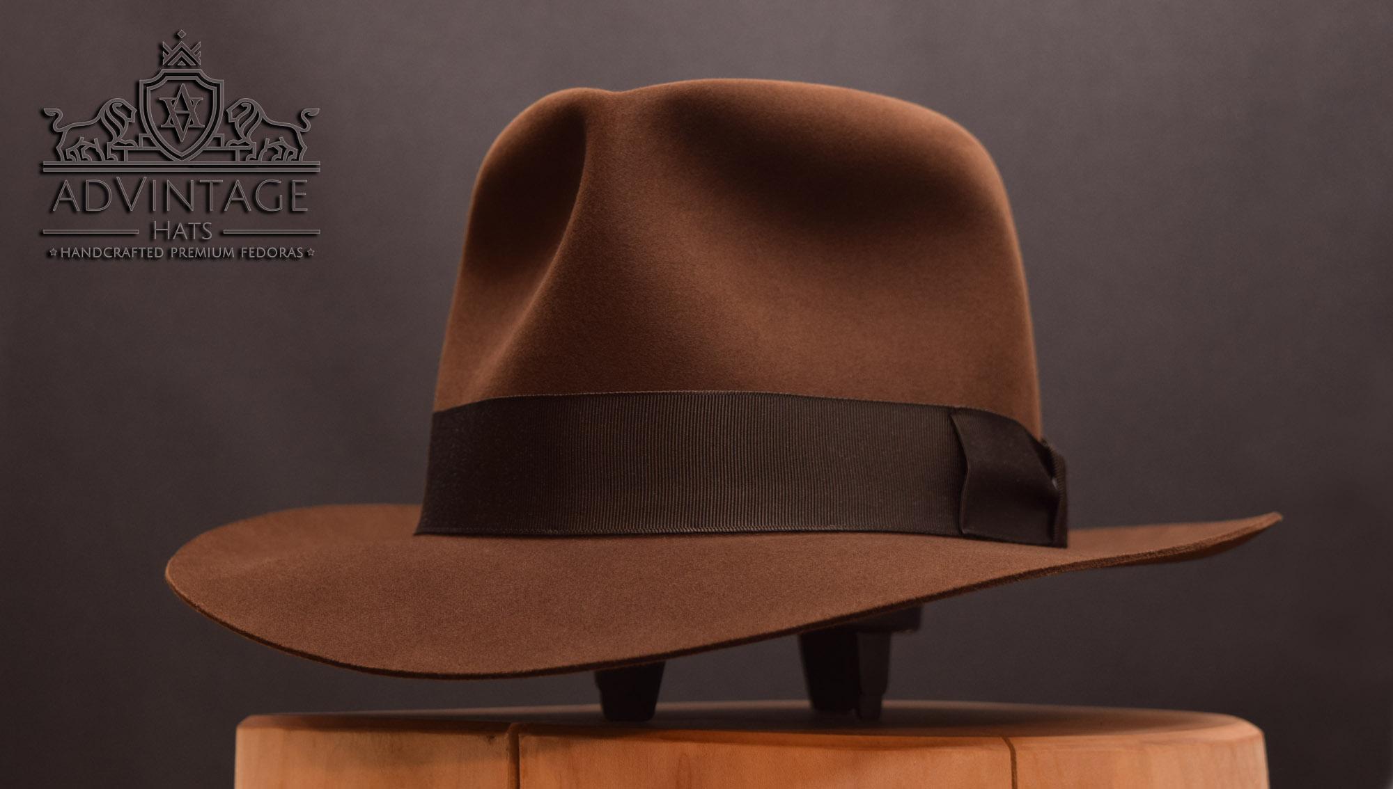 Last Crusade Indiana Jones Fedora hat hut true sable