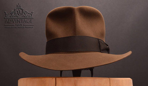 Decent MasterPiece Streets of Cairo Fedora hat in Sable