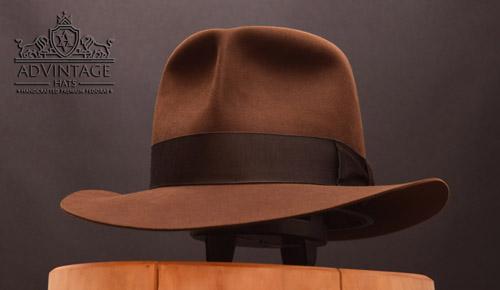 Raider Fedora Hut ohne Raiders-Turn in True-Sable